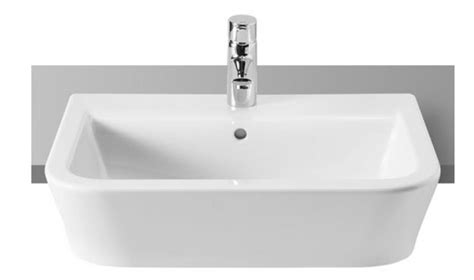 roca bathroom sinks roca gap 327474000 white 1 tap wall hung or on