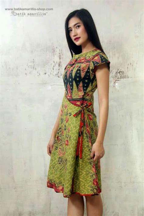pin oleh yovita aridita  batik ideas gaun gaun pendek