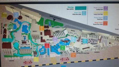el magic resort map вид с 6 корпуса picture of steigenberger aqua magic