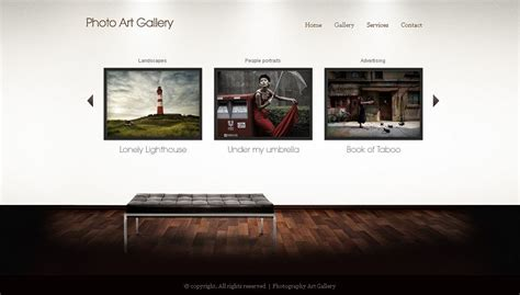 art gallery wp wordpress theme wp photography gallery