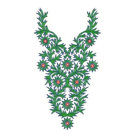 embroidery design gown neckline designs for dress embroidery 5