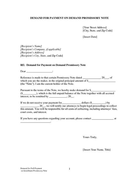 demand promissory note the 25 best promissory note ideas on lease