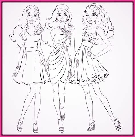 imagenes para colorear barbie imagenes de la barbie para colorear archivos fotos de barbie