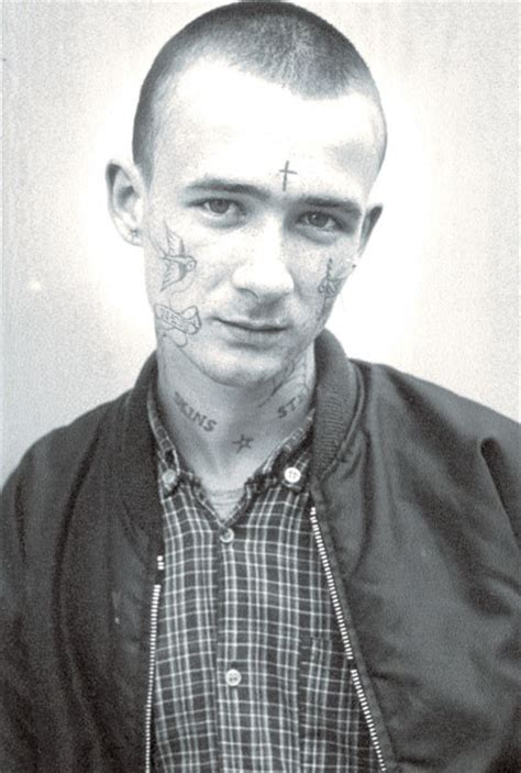 skinhead cross tattoo portraits of skinhead culture from 1979 to 1984