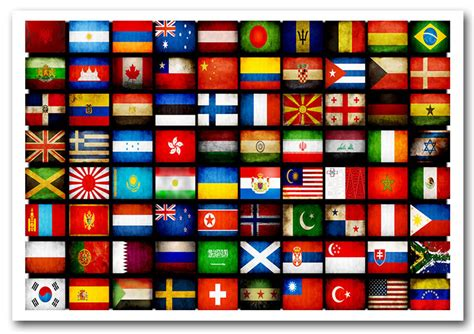 free printable flags of the world poster world flags prints posters wallartdirect co uk