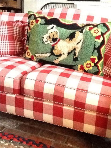 red and white checkered sofa red gingham sofa thesofa