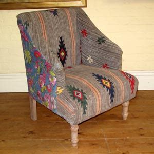 Patchwork Armchair For Sale by Raja Patchwork Armchair Large Ferailles