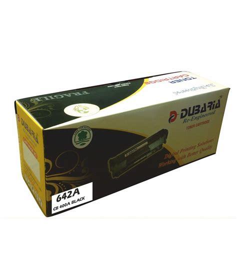 Hp Black Toner 642a Cb400a dubaria 642a compatible for hp 642a black toner cartridge