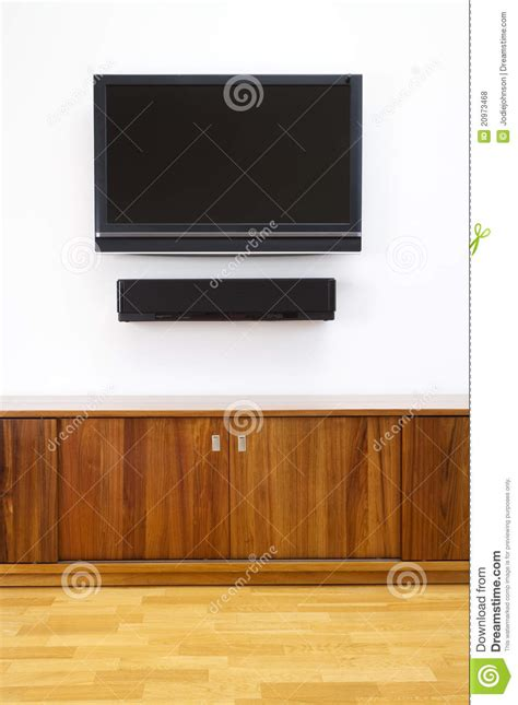 Vertical Tv Cabinet by Tv And Cabinet Vertical Royalty Free Stock Photos Image