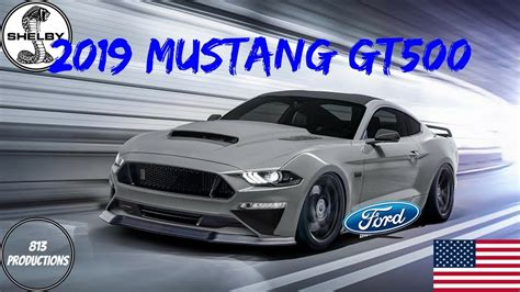 2019 Ford Gt500 Specs by 2019 Ford Mustang Shelby Gt500 Specs