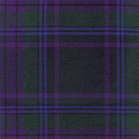 Kemeja Tartan Black Blue spirit of scotland