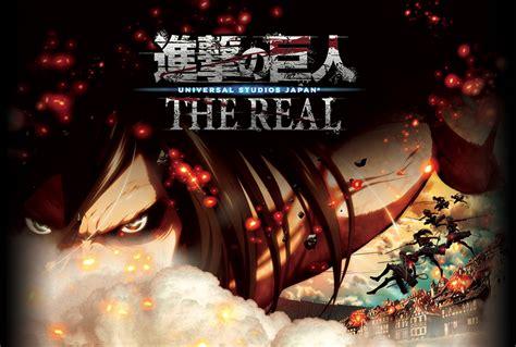 gamers anime universal una atracci 243 n de shingeki no kyojin en el universal