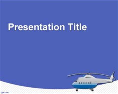 Free Enforcement Powerpoint Templates by Helicopter Powerpoint Template