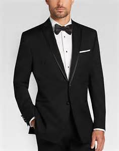 Mens Wearhouse Calvin Klein Black Slim Fit Tuxedo S Tuxedos S
