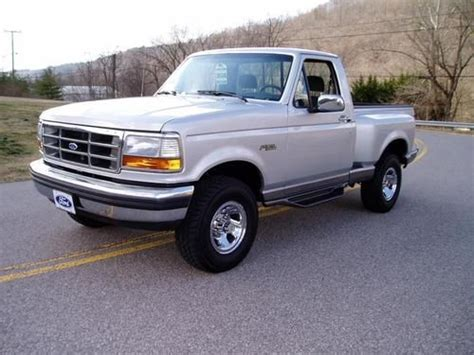 sell used 1992 ford f150 4x4 xlt 1 owner 14k actual miles the best you will find in