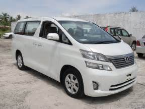 Toyota Tent Cer Toyota Vellfire Car Rental Malaysia Luxury Mpv For Hire