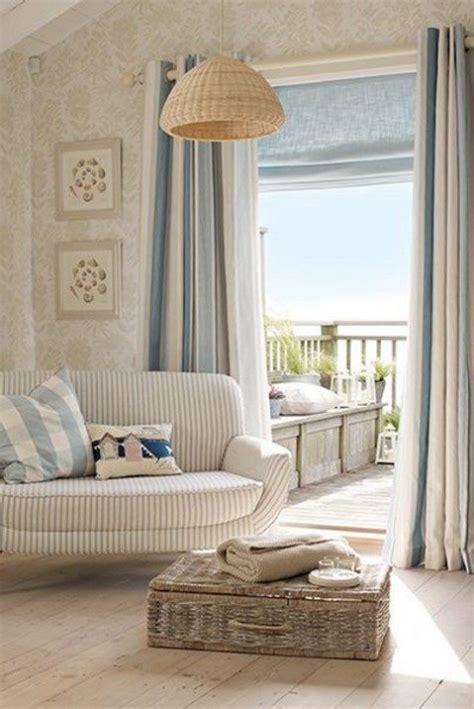 curtains beach house beach and coastal living room decor ideas comfydwelling com