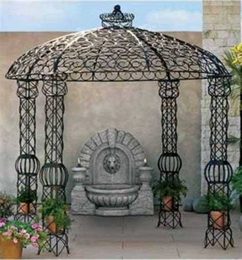 Iron Gazebo Wrought Iron Gazebo Rental Orlando Event Decor Rentals