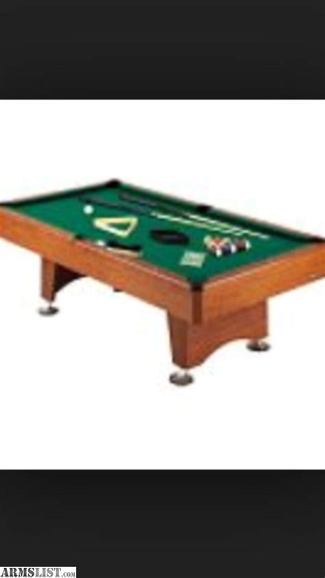 7 pool table for sale armslist for sale trade mizerak pool table 7 ft
