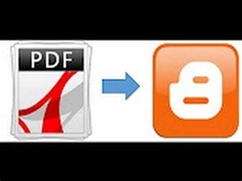 blogger upload pdf how to embed pdf in blogger blog how to upload pdf file to