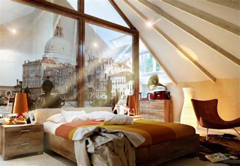 exposed roof beams   bedroom designs home design lover