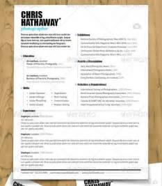 37 stylish resume templates vandelay design