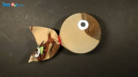 How To Make A Fish Out Of A Paper Plate - how to make sock fish