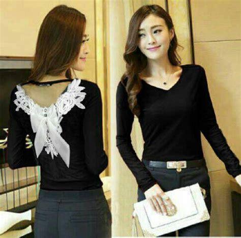 Fashion Baju Cewek Blouse Murah Terbaru baju atasan wanita quot blouse rendara quot model terbaru cantik