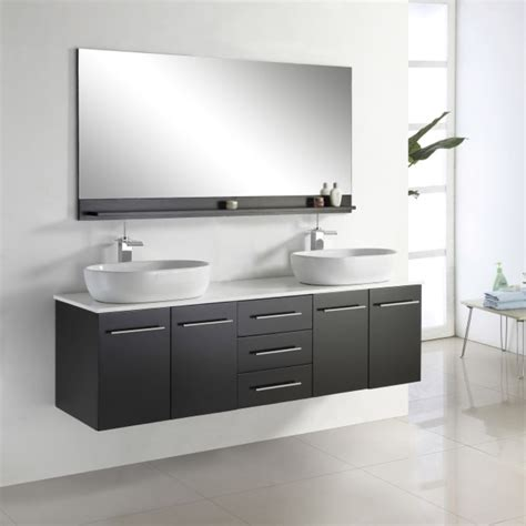 wall hanging sink cabinets modern wall mount vanity wall mount glass sink inch