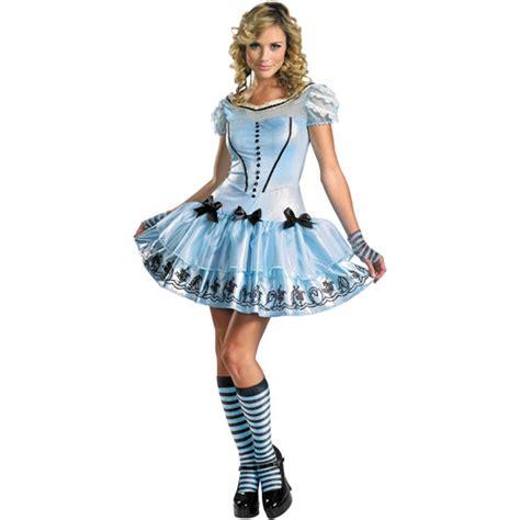 alice in wonderland costume alice in wonderland costumes alice in wonderland sassy alice adult halloween costume
