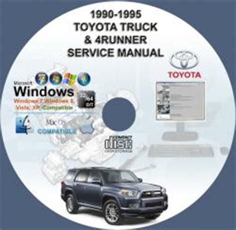 how to download repair manuals 1995 toyota 4runner parking system toyota truck 4runner 1990 1995 service repair manul on cd 90 91 92 93 94 95 www