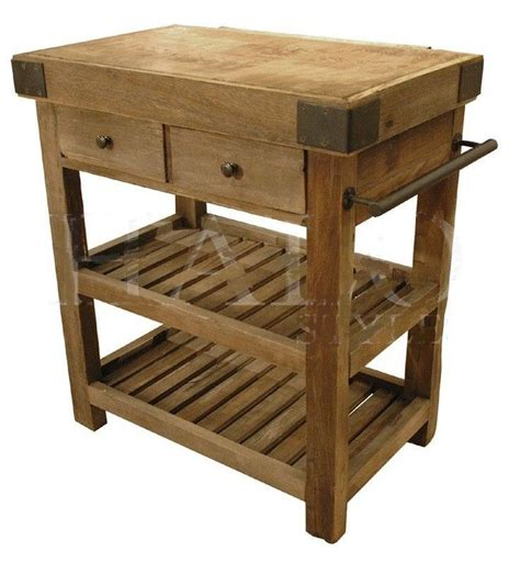 kitchen butcher block island kitchen island butcher s block old reclaimed elm iron new
