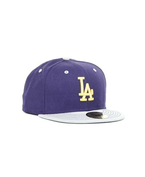 Ktz Tosca ktz los angeles dodgers mlb gstitch 59fifty cap in purple