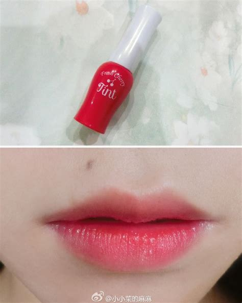Etude Fresh Cherry Tint 1000 ideas about etude house lip tint on tint