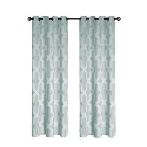 steel blue curtains bella luna drona thermal 84 in l room darkening grommet