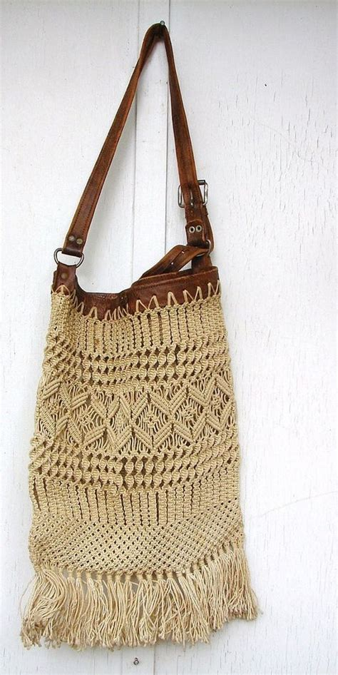 How To Make Macrame Purse - 17 best images about rope macrame on coffee