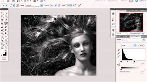 tutorial photoshop black and white converting an image into black and white in photoshop