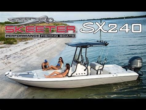 xpress skiff review skeeter bay boat sx240 center console saltwater fishing