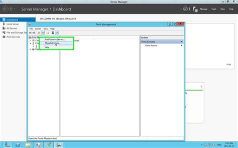 best print server step by step migrating print servers from windows server