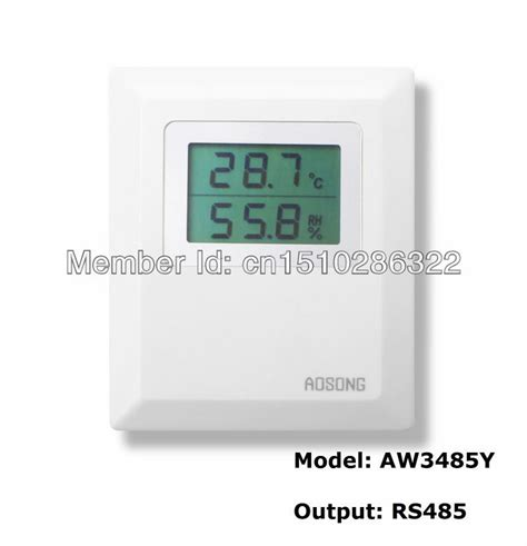 room humidity room humidity temperature transmitter humidity sensor rs485 output aw3485y in sensors from