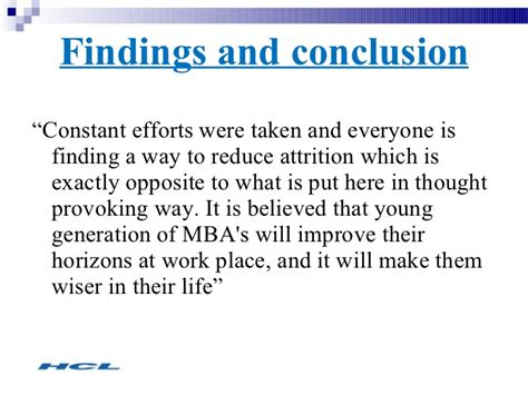 Mba Attrition Rate by Attrition In Hcl