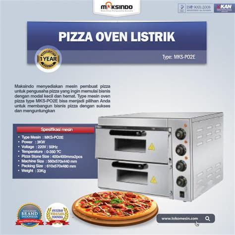 pizza oven listrik mks po2e toko mesin maksindo
