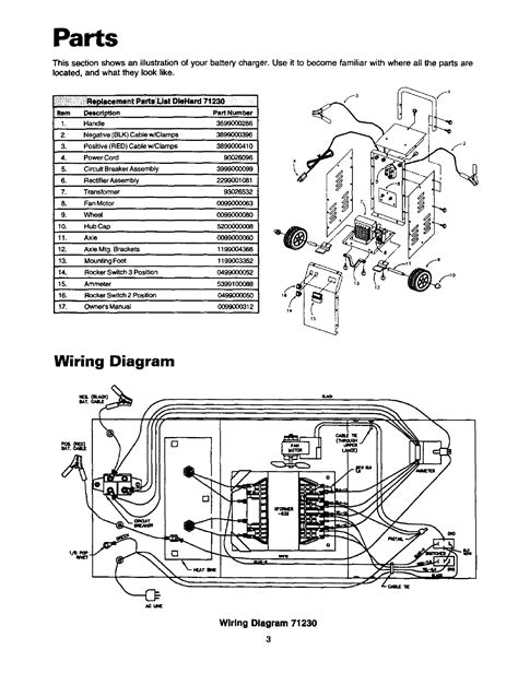 sears battery charger wiring diagram wiring diagram with