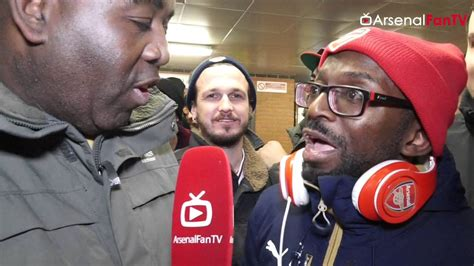 arsenal fan tv claude calls ty the most deluded fan of all time