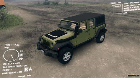 modded jeep jeep wrangler ns 187 gamesmods net fs17 cnc fs15 ets 2 mods