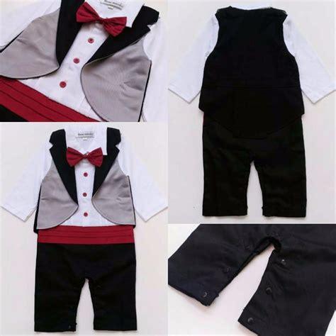 Rompi Cowok Set jual romper baju pesta anak bayi laki cowok import rompi