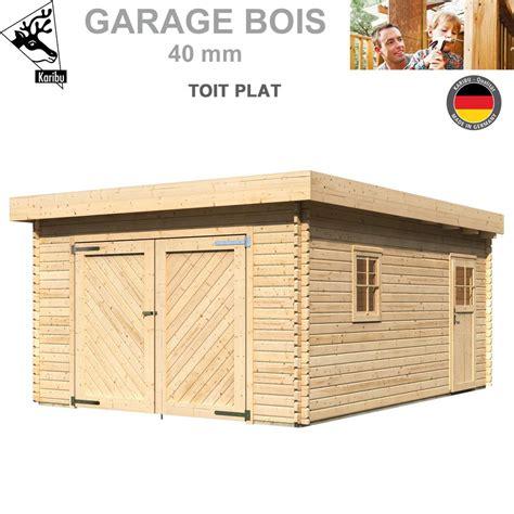 Garage En Bois Toit Plat 436 garage en bois toit plat garage toit plat en bois brut