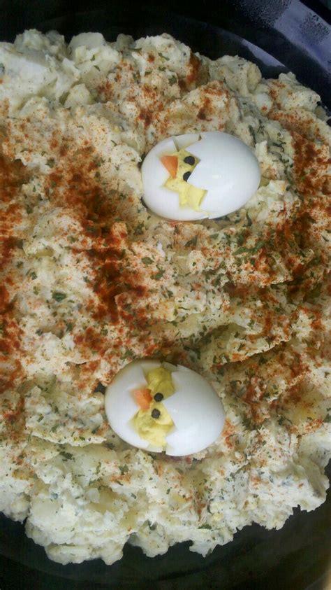 Potato Salad Decoration by Potato Salad Decoration Stuff I Make