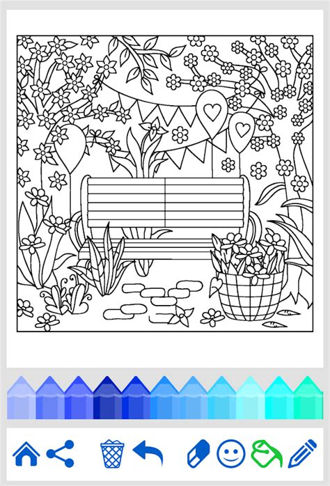 free coloring apps coloring flowers android apps on play