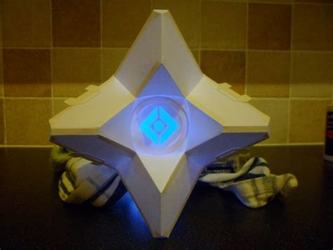 Ghost Papercraft - destiny ghost papercraft master of